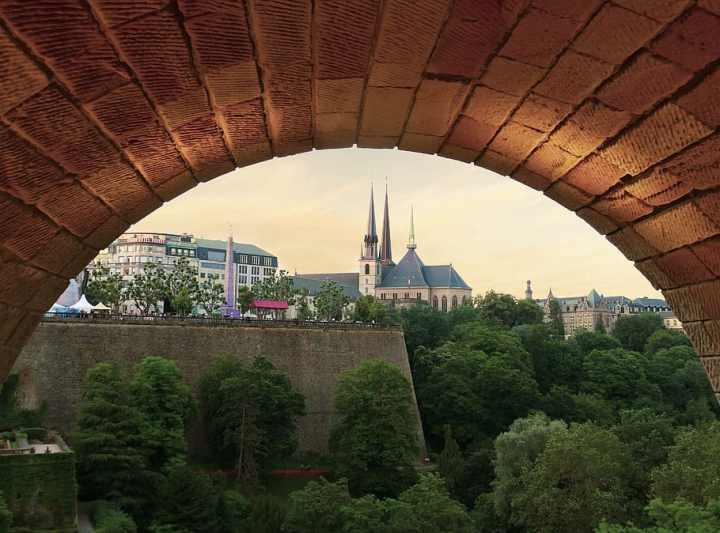 A Dollhouse City: Luxembourg
